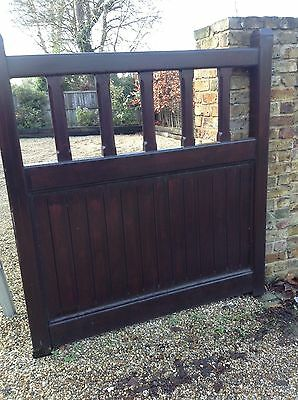 Driveway Gates - Solid Wood - Handmade