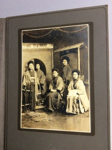 Japan . Group of ladies  photo . Early 20th c CC15
