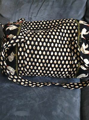 Vera Bradley Chanticleer Small Duffle Bag   Super Rare   Used