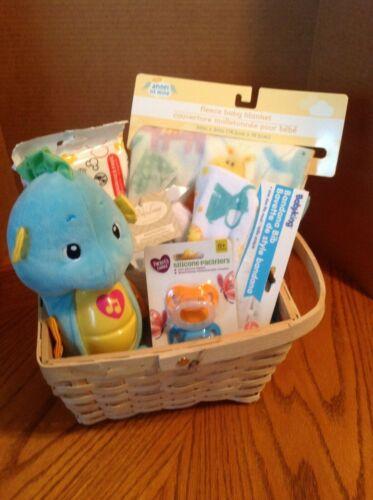 Welcome New Baby - Baby Gift Basket - Unisex