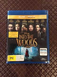 Brand New in Plastic Seal - Disney's Into The Woods Blu-Ray Ashtonfield Maitland Area Preview