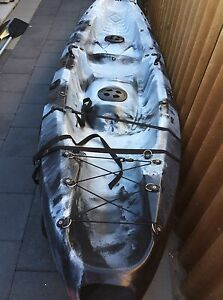 2.5 seater kayak with rod holders and extras Bull Creek Melville Area Preview
