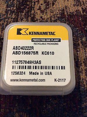 New Kennametal Soli Carbide Boring Bar Abd40222r Abd156875r Kc610
