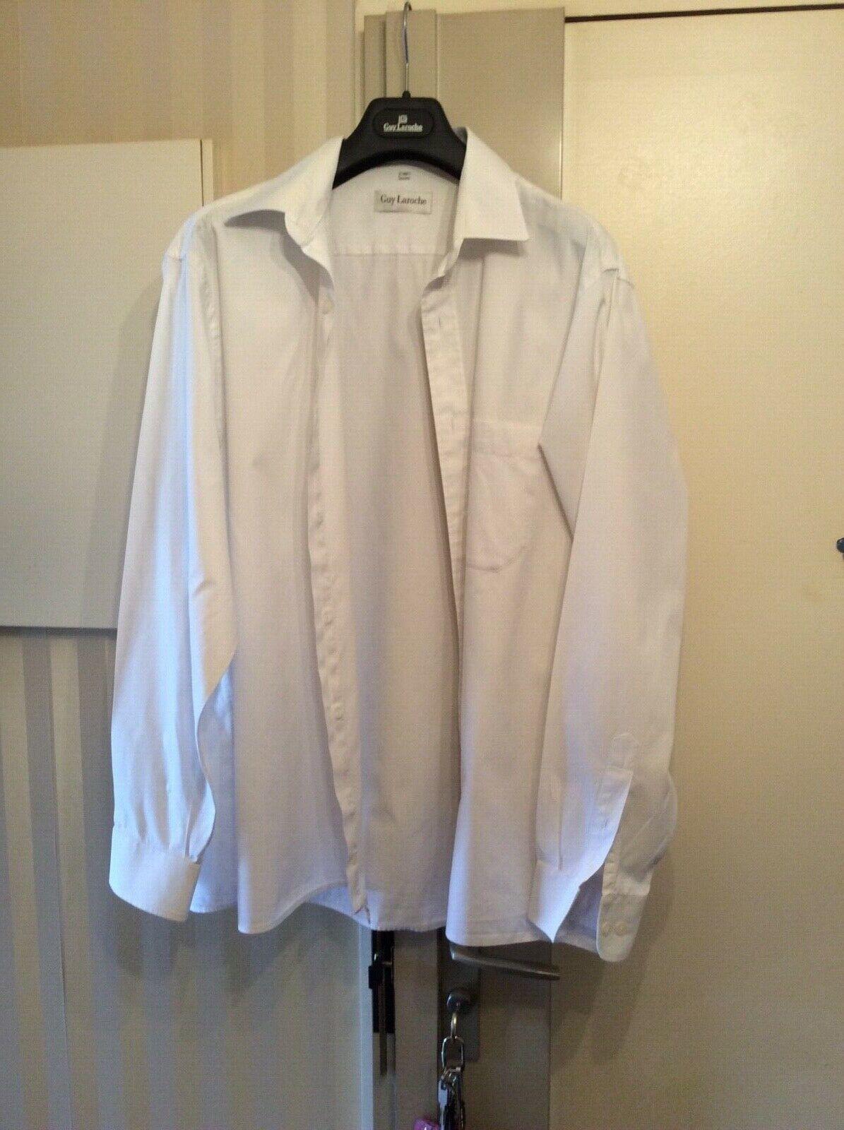Chemise blanche guy laroche
