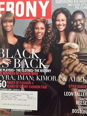 Ebony Magazine Tyra Banks Iamn   Kimor September 2007 101117Nonrh
