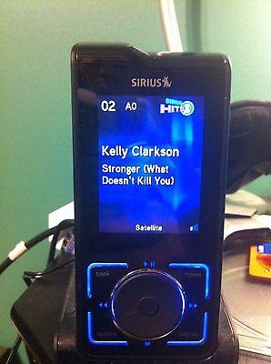 Sirius Stiletto 2 Live Portable Satellite Radio Receiver   Mp3 Player Activated