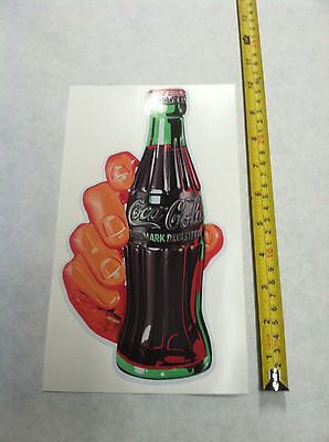 COCA COLA PEPSI COLA DECAL SODA HAND STICKER 10 INCH