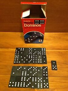 Dominos toy game Double Six Wooden Dominos Windsor Region Ontario image 5