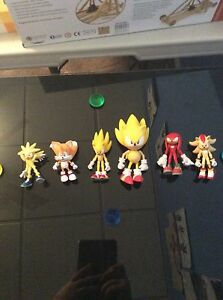 Sonic The Hedgehog action figure lot