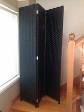 Room Divider/ Screen, black Keilor East Moonee Valley Preview