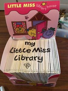 35 little miss books mr. men author roger Hargreaves collectors