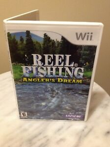 Wii Nintendo REEL FISHING