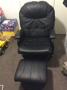 Rocking/baby feeding chair with ottoman glider Caringbah Sutherland Area Preview