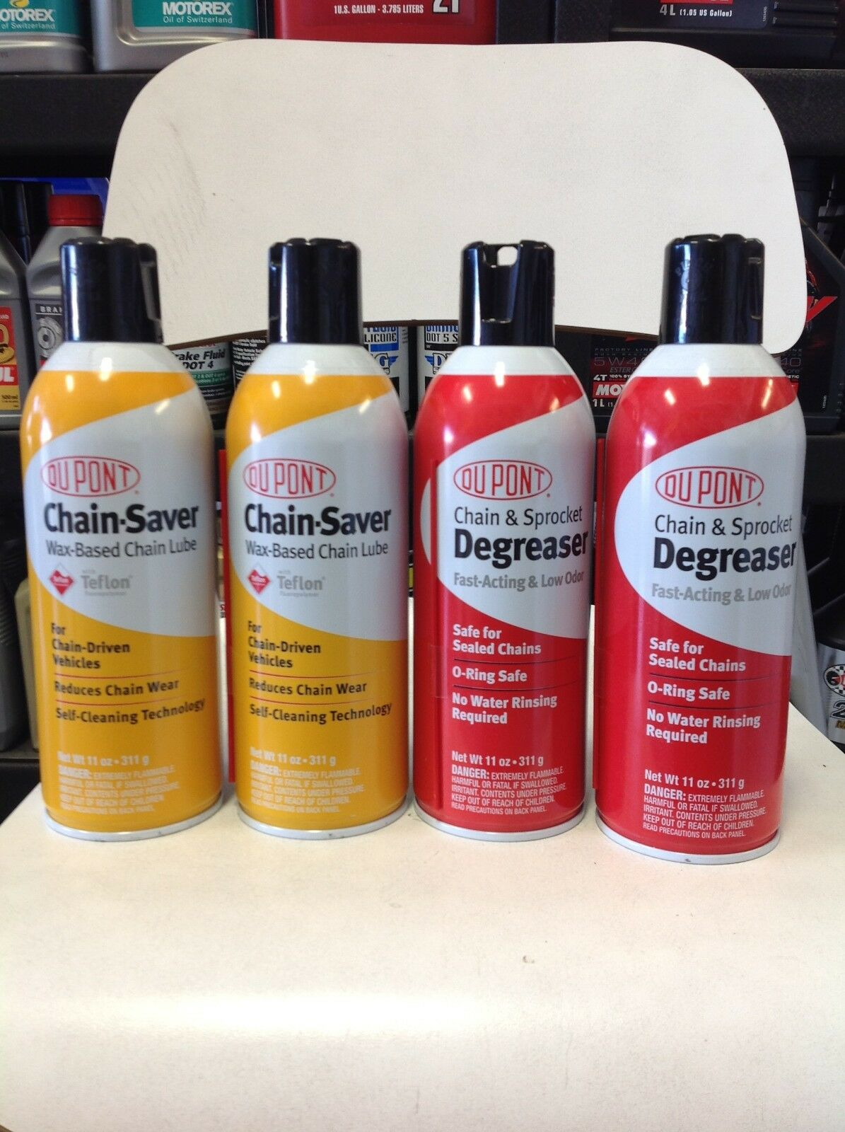 DuPont Degreaser and DuPont Chain Saver Pack  11 oz
