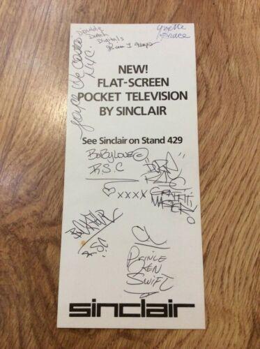 ROCK STEADY CREW Vintage 83 Signed Autographs HIP HOP RAP BODY POPPIN BREAKDANCE