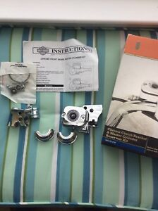 Harley Davidson Chrome clutch & master cyl kit. $225