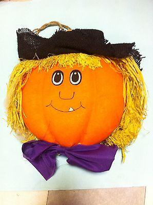 + decorazione zucca Halloween horror carnevale per vetrine o arredamento