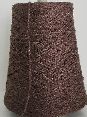 BITTERSWEET Rayon Ric Rac Bouclé cone yarn weave knit 1 (Yarn 1 Lb Cone)