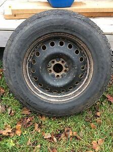 Winter Tires and Steel Rims- 245/65R17