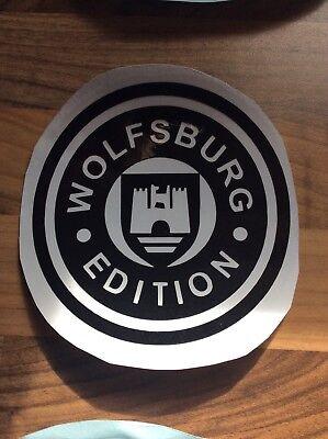 VW Vinyl sticker Wolfsburg Crest