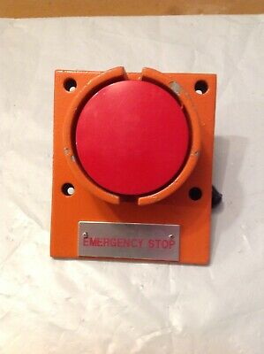 Emergency Stop Pushbutton Switch