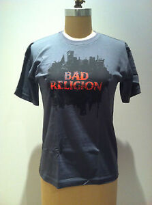 BAD-RELIGION-T-SHIRT-AUS-Tour-2007-NEW-OFFICIAL-MERCHANDISE-SIZE-Extra-Small