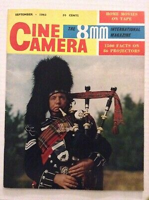 Cine Camera Mag 1500 Facts On 86 Projectors September 1963 092319nonrh for sale  Shipping to India