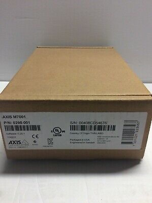 Axis M7001 Compact Video Encoder 0298-001 New