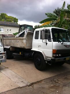BOBCAT, EXCAVATOR AND TIPPER SERVICES FOR HIRE  Strathfield Strathfield Area Preview
