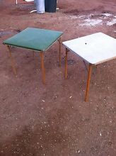 Old school card tables Loveday Berri Area Preview
