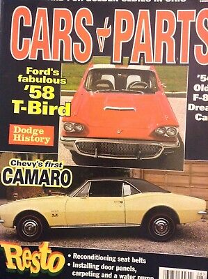 Cars & Parts Magazine '58 T-Bird & '54 Olds August 1998 031918nonrh