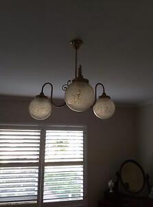 Brass light fitting Beaumont Burnside Area Preview