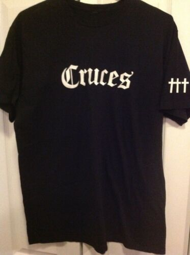 Crosses ††† Cruces black tee XL t shirt Chino Moreno deftones EXTREMELY RARE