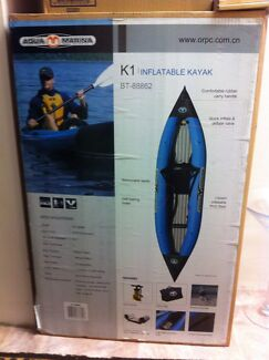 K1 Inflatable Kayak Carlton Kogarah Area Preview