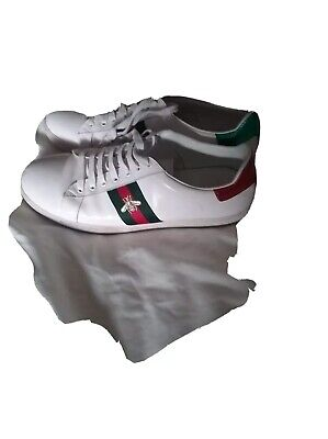 Men's Gucci Ace Trainers, Size 10, used, good condition
