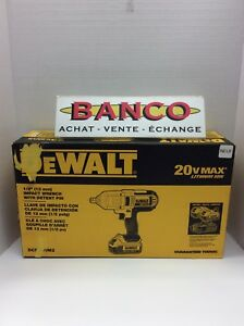 """Impact wrench 1/2"""" (13mm)"""