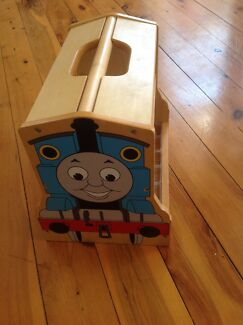 Thomas the Tank Engine wooden carry case