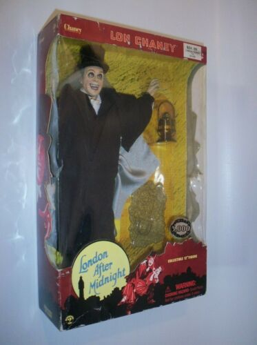 "Lon Chaney London After Midnight 12"" Sideshow Figure 2001 Ltd Edition, NIB Rare!"