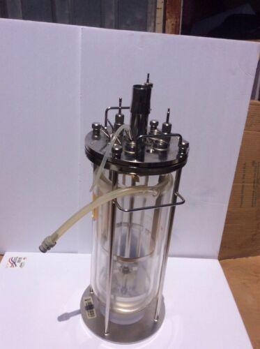 7.5 L glass BIoreactor  glass fermentation vessel