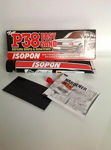 P38 Easy Sand Car Body Filler 60ml Davids Isopon