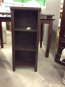 Brand New Dark Brown Shelving Unit at HFH ReStore.