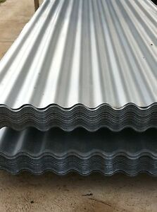 Corrugated Iron roofing sheets Zinc 1.8M - 5.4 Metre lengths $7.50 L/M Inc GST