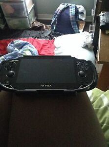 PS vita with travelling case