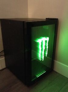 Monster Energy bar fridge