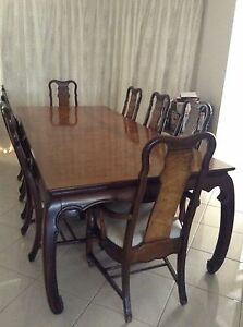 Dining Table 8 Chairs