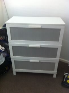 IKEA white chest of drawers Engadine Sutherland Area Preview