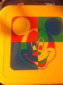 TUPPERWARE Classic Disney Micky Mouse Container Everton Park Brisbane North West Preview