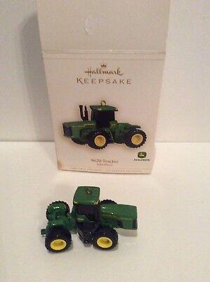 halmark john deere ornament, 9620 tractor, 2006