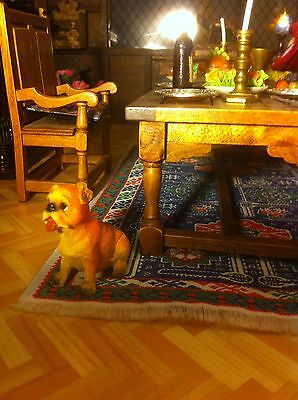 1/12th Dolls House Pet CUTE   Dog Stitting NEW