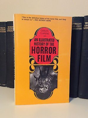 1968 Clarens  Carlos An Illustrated History Of The Horror Film 1St Edition